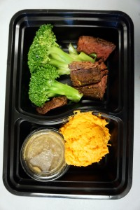 Caveman Chefs packages individual Paleo diet meals.