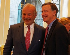 Schonbrun (left) and Hickenlooper