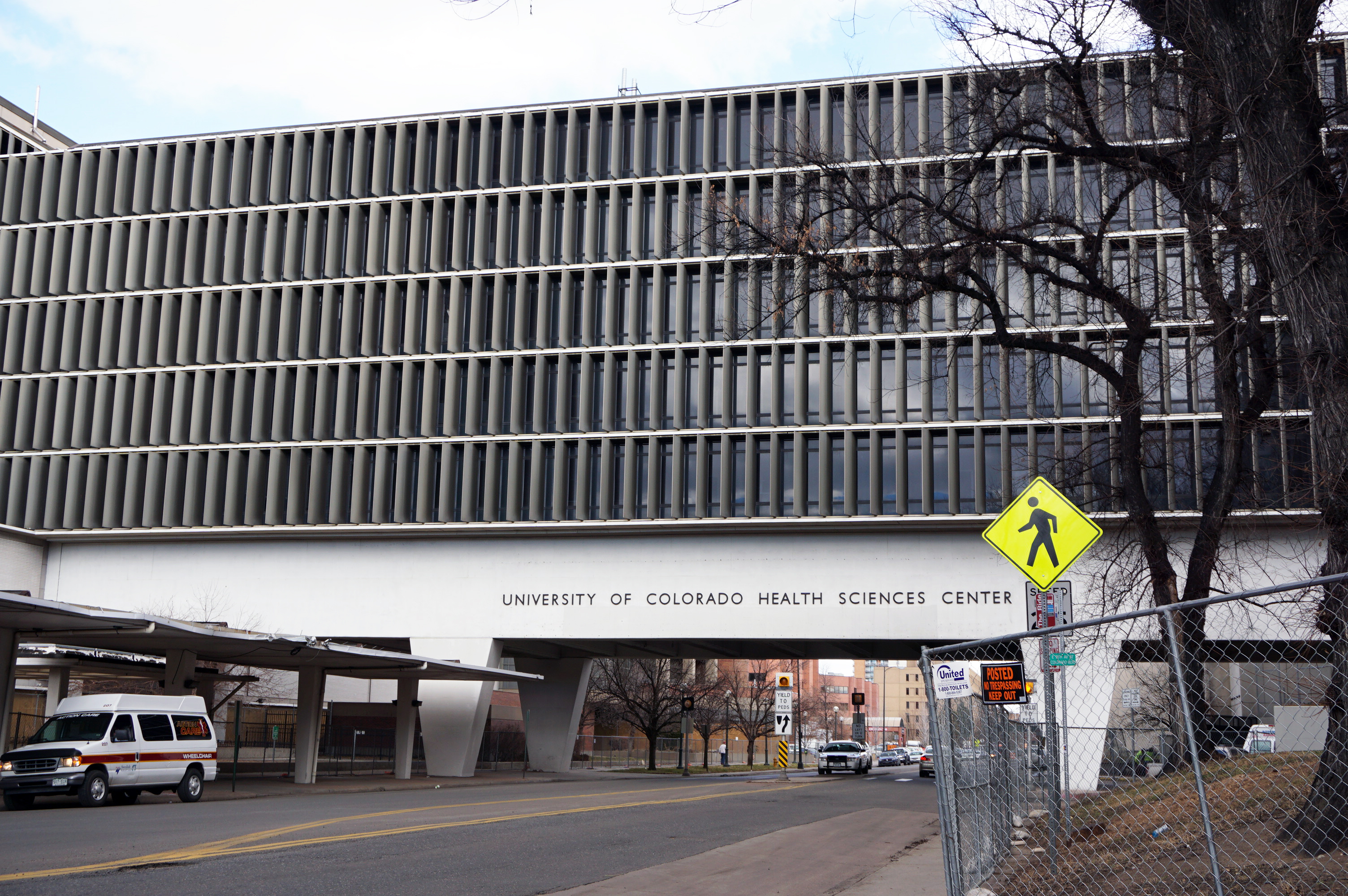 University Of Colorado Health Sciences Center >> Bridge Over 9th Avenue Remnant Of Former Cu Hospital Campus To Be