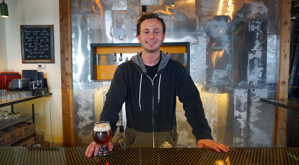 Christopher Bruns and his sister Laura are opening a homebrew-focused brewery and taproom. Photos by George Demopoulos.