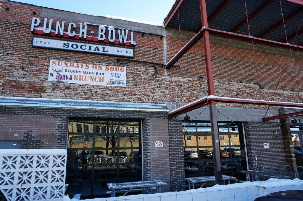 Denver's Punch Bowl Social is located at 65 Broadway.