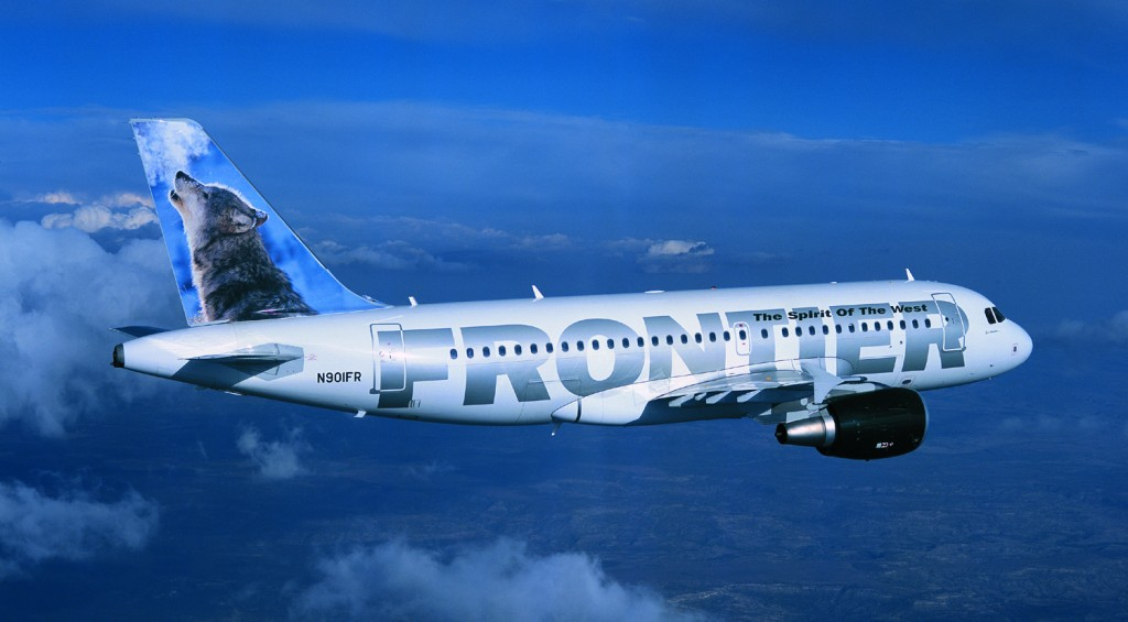 Frontier Airlines is reducing its gate presence at DIA. Photo courtesy of Frontier.