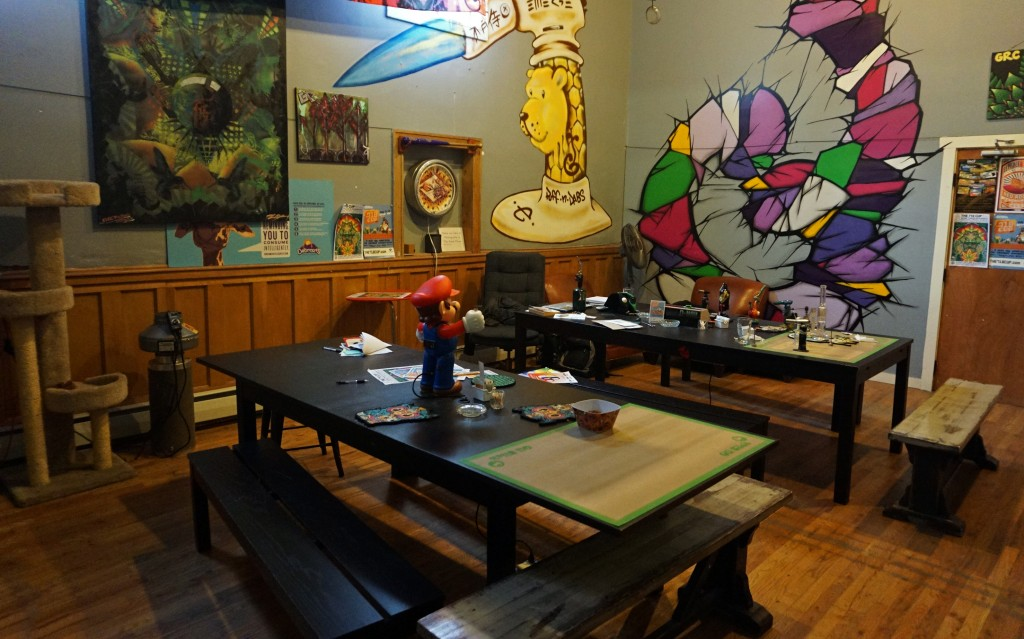 The Break Room, a private marijuana smoking lounge, was shut down by its landlord. Photos by George Demopoulos.