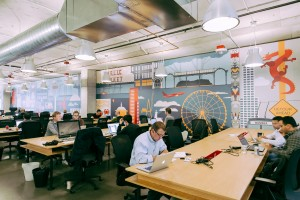 WeWork has offices across the world, including one in Seattle (pictured). Photo by WeWork.