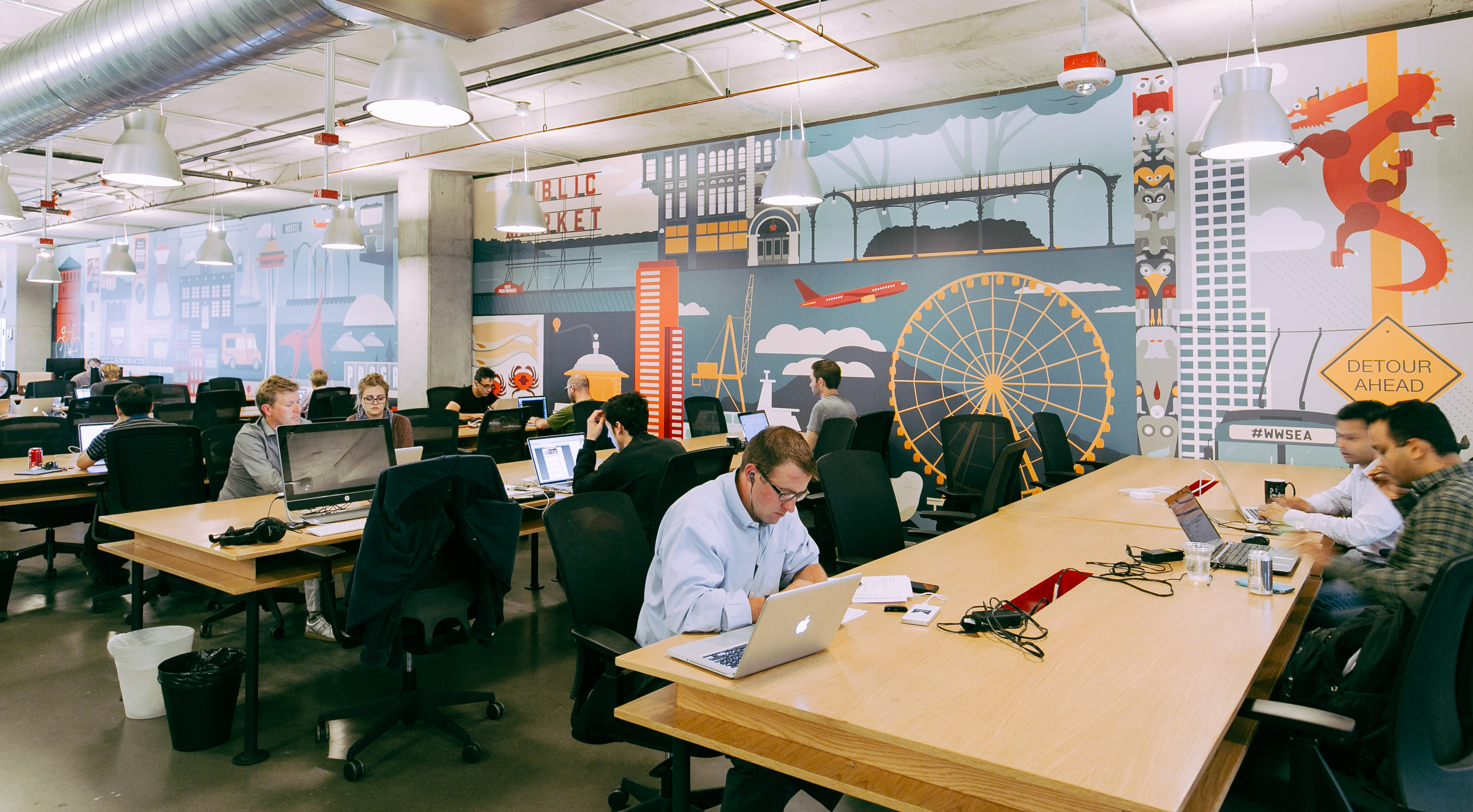 Businessden co working colossus plots 3 part denver for Space and co
