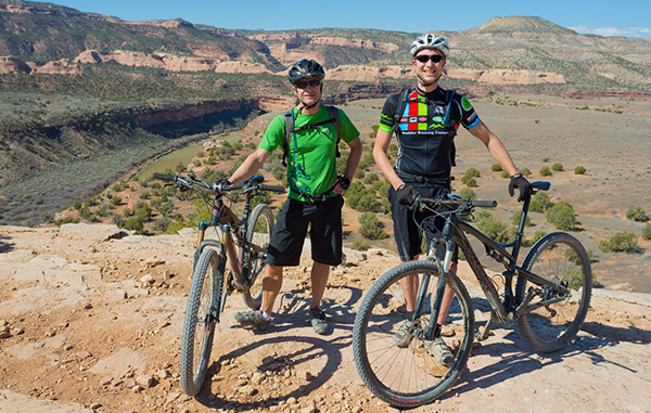 Nick Wilder (left) and Adventure Projects business partner Mike Ahnemann. Photo courtesy of Adventure Projects.