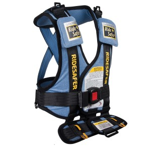Safe Ride 4 Kids' most popular product has been its vest, which helps guide and secure seat belts in the proper place.