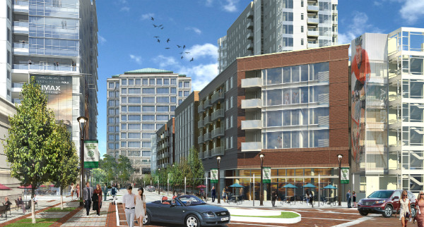 Renderings courtesy of Lincoln Property Company