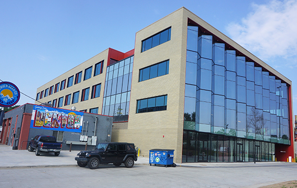 The Lab on Platte project landed a huge co-working tenant. Photo by Burl Rolett.