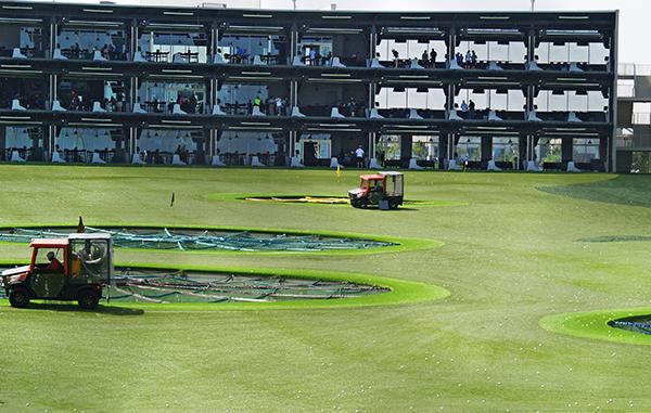 top golf range