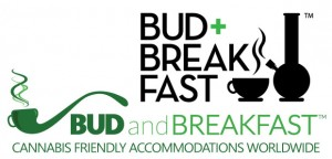 Bud+Breakfast (top) and Taste of Travel website logos