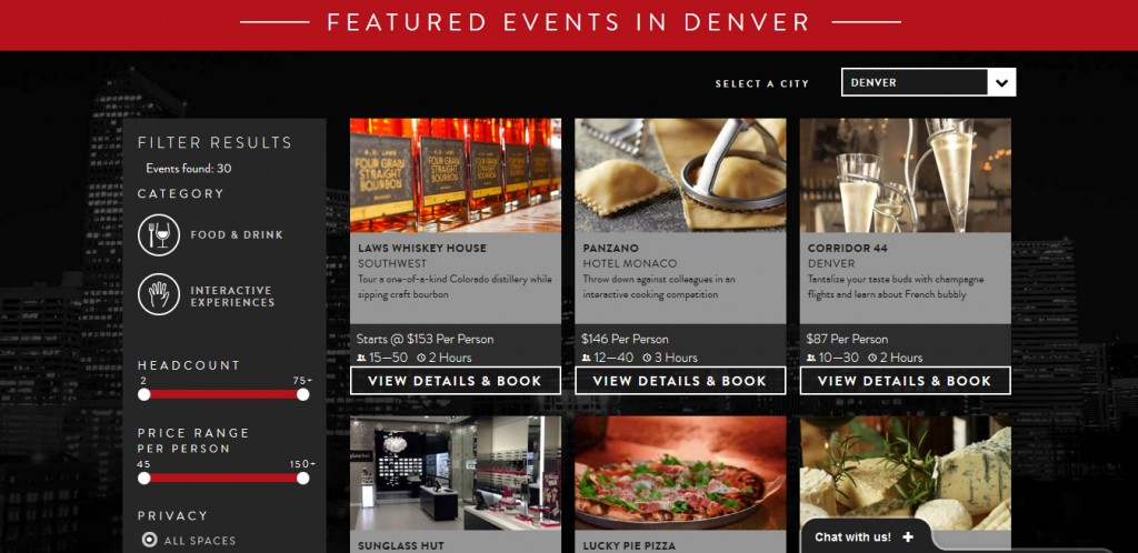 A Chicago company is planning corporate events at local venues. Photos courtesy of Kapow.