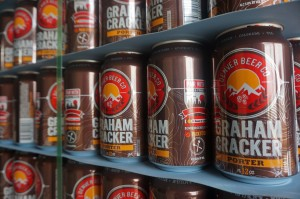 The Graham Cracker Porter is one of the brewery's most popular beers.