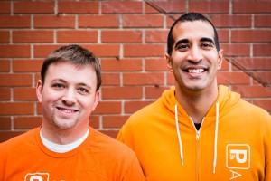 Ryan Sullivan and Rishi Malik.(Courtesy of Parkifi)