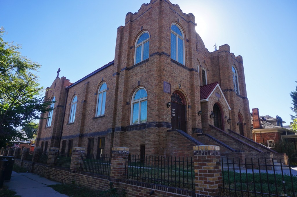 A church building built in the 1930s is under new ownership once again. Photo by Burl Rolett.