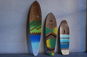Lowtide boards sell for between $100 and $300.
