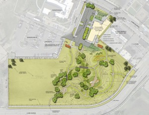 Outdoor amenities will include various habitats, a climbing and ropes area, open fields and an outdoor classroom.