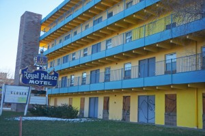 Oberg also owns the Royal Palace Motel property near City Park.