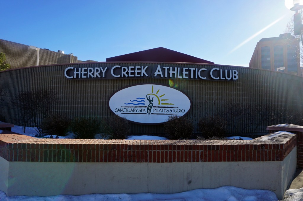 The Cherry Creek Athletic Club is getting some upgrades. Photos by George Demopoulos.
