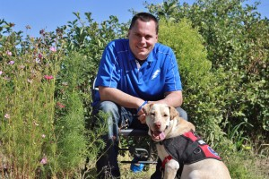 Freedom Service trains dogs to pull wheelchairs, open doors, turn on lights and more.