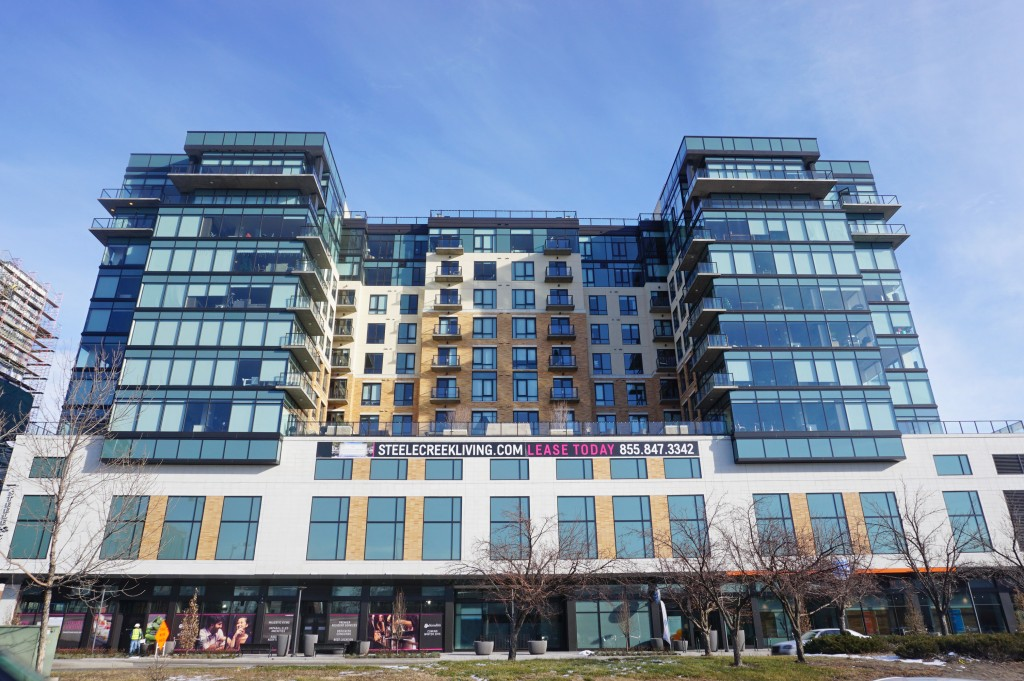 Steele Creek, the most expensive apartment complex surveyed, is offering rent, fees and deposit discounts on certain leases.