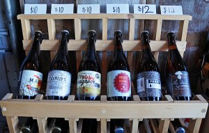 Bottles of Stem Ciders sell for between $10 and $12.