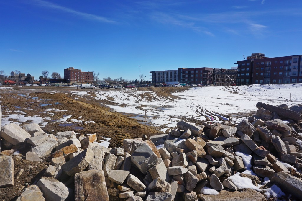 A condo development has been approved for