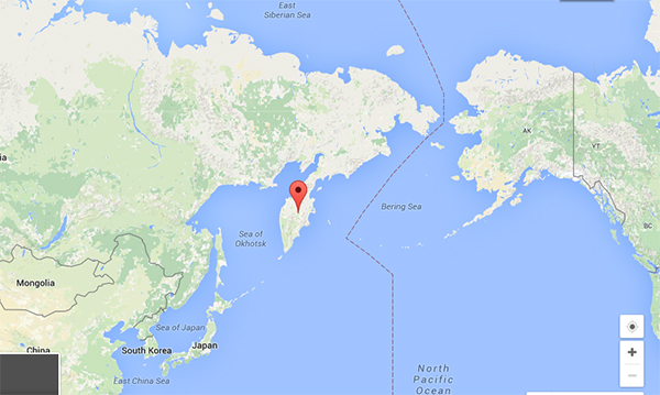 Kamchatka Peninsula On World Map.Fishing Guide Sues Former Employer Over The Best Of Kamchatka Name