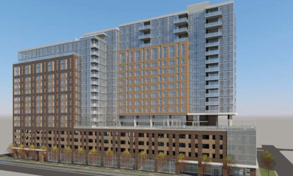 Rendering is by RNL Designs pulled from Denver public records.