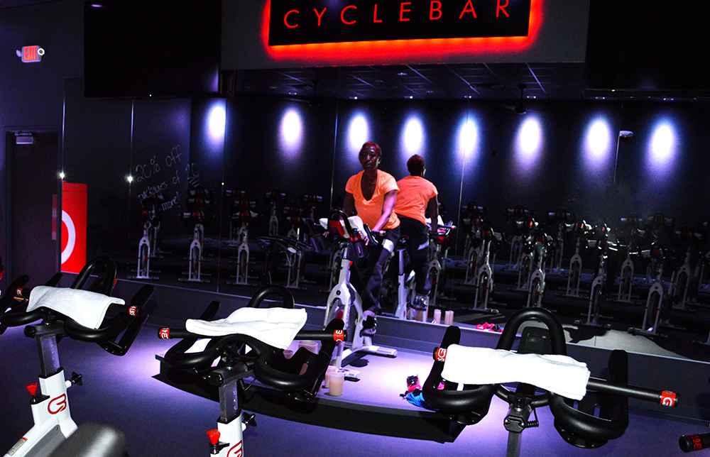 Cycle Bar Lori Johnson