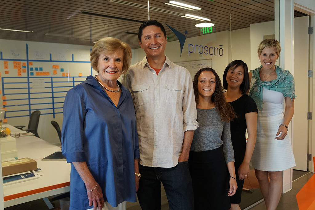 From left: Jean Galloway, Jesus Salazar, Charissa Murphy, Cindy Chang and Annie Barr Larner.