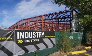 Industry RiNo Station is a planned $56 million office building for the site at 3825 Lafayette St. in Cole. (Burl Rolett)