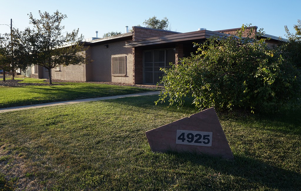 The warehouse at 4925 E. 38th Ave. was listed six months ago. (Amy DiPierro)