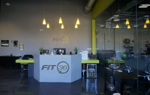 The Fit 36 lobby in Highland Springs. (Courtesy Fit 36)