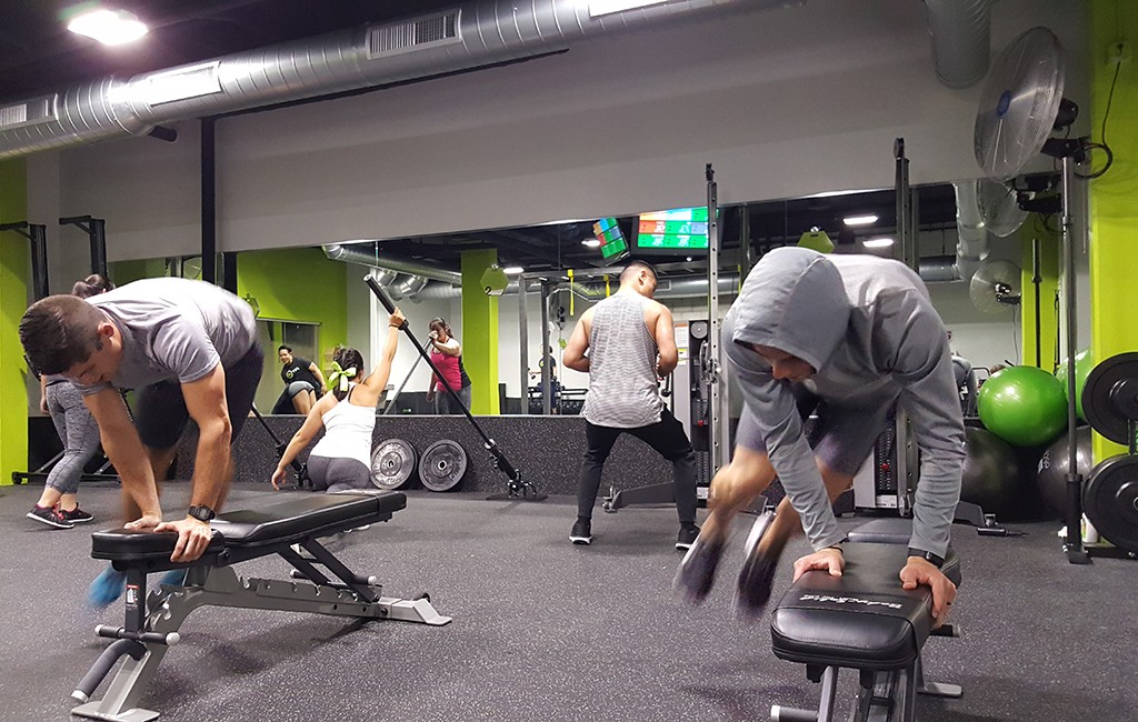 Members go through a 36-minute workout at a Fit 36 location. (Courtesy Fit 36)