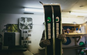 Meier's ski-tuning business is already up and running on Yuma Street, where they repair any brand. (Courtesy Meier)