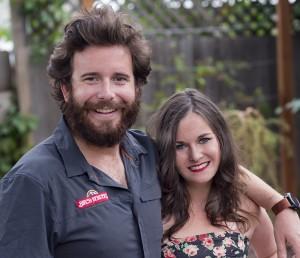 Matt LaCasse launched Birch Benders in 2012 with wife Lizzi Ackerman. (Courtesy Birch Benders)