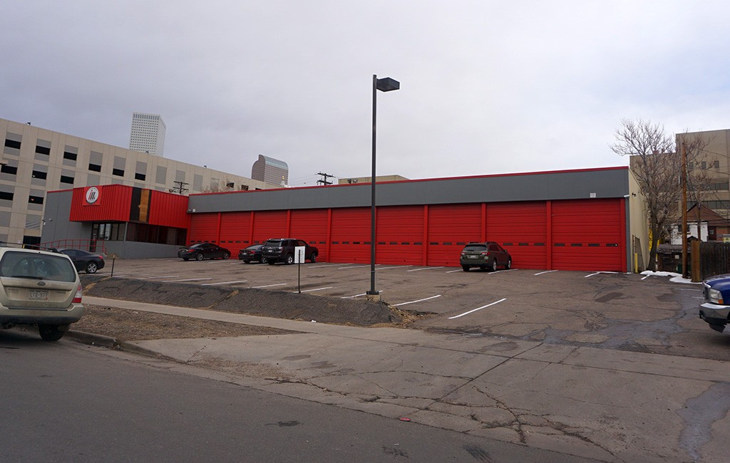 A hotel is planned for the site at 13th Avenue and Elati Street in the Golden Triangle. (Burl Rolett)