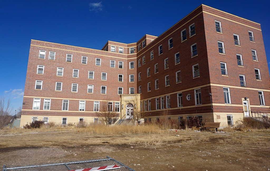 The Kuhlman Building, a former nurses' dormitory, will be renovated into 49 apartments. (Burl Rolett)