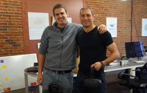 Jeremy Thiesen, left, and Pascal Wagner launched Walkthrough last spring. (Amy DiPierro)