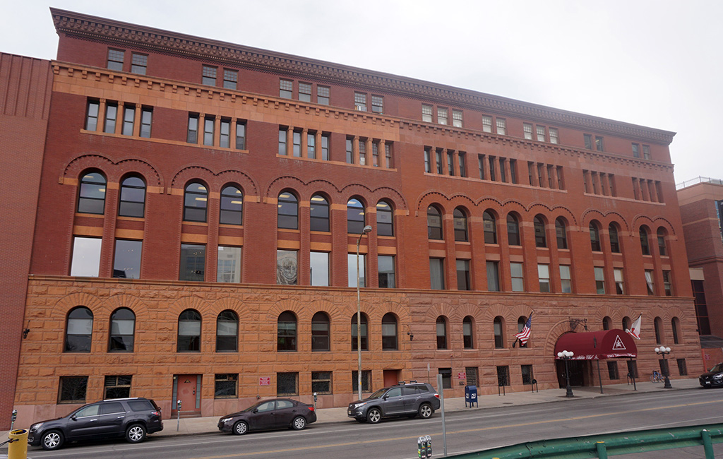 The Denver Athletic Club is planning upgrades to its fitness center at 1325 Glenarm Place. (Courtesy DAC)