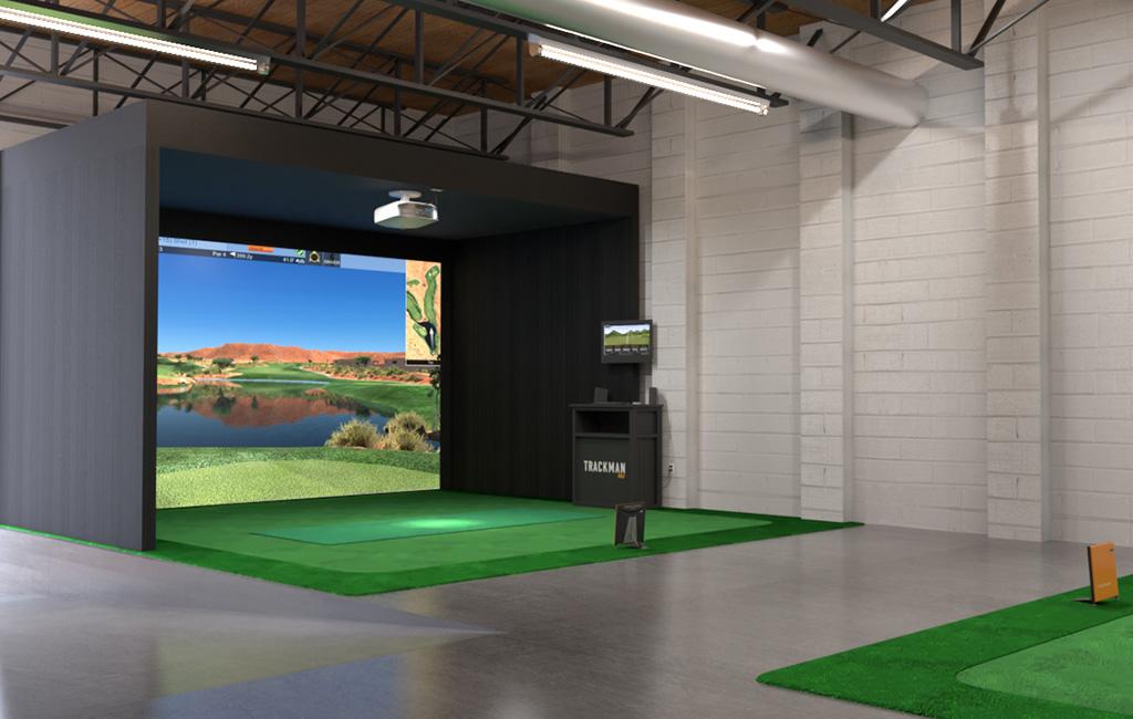S Broadway Hooks Indoor Golf Center Businessden