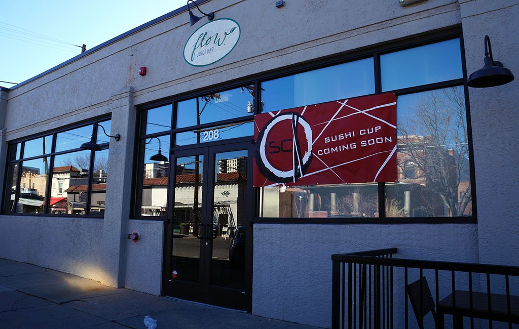 Sushi Cup is moving into 208 E. Seventh Ave., next to Max's Wine Dive. (Amy DiPierro)