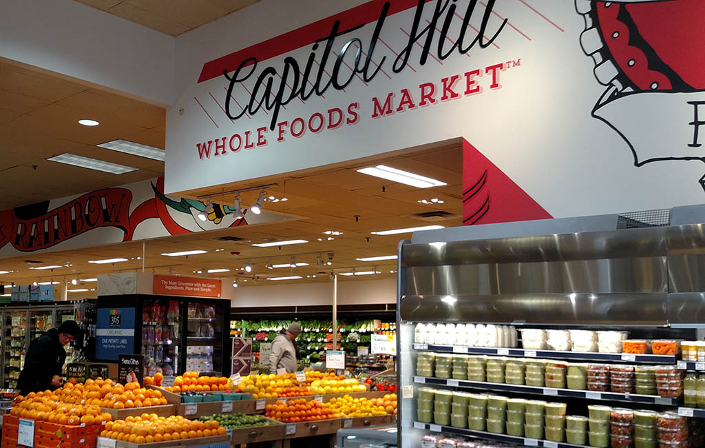 Whole Foods Cap Hill Closing