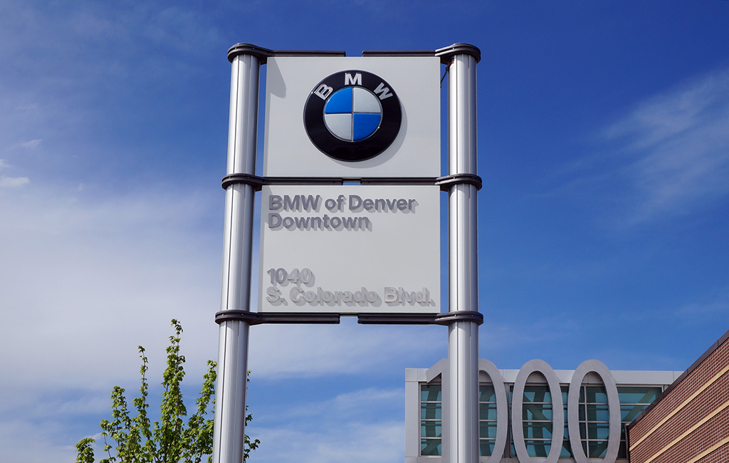 Bmw brouhaha motorcycle and car dealer in naming spat for Murray motors bmw denver