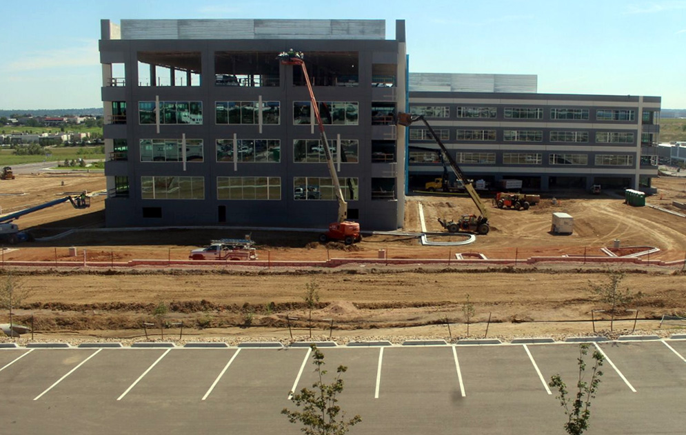 Travelers insurance inks lease at under construction for Insurance for home under construction