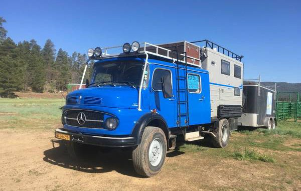 1970s Mercedes Firetruck Camper Creation Hits The Market