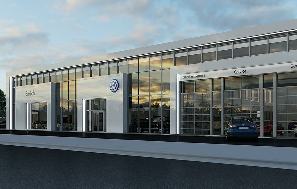 That New Car Lot Smell Vw Dealership Pays 7m For Land