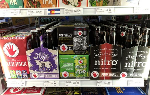 left hand beers