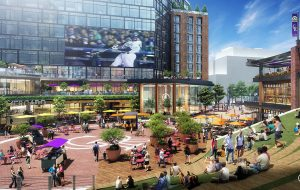 plaza rendering